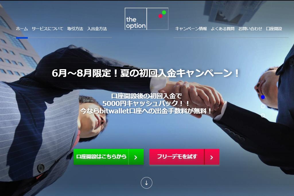 4位 the option(ザオプション)